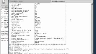 16 Mysql Database   MySQL Dump