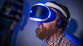 Hands-On: Sony's New 'Project Morpheus' Prototype VR Headset + Demo -