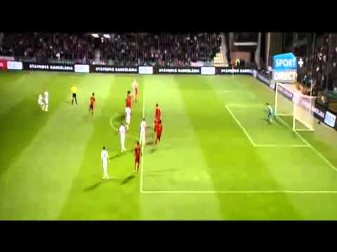 Iker Casillas FAIL   -Slovakia vs Spain  (Qualification Euro 2016) 09- 10- 2014 HD