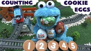 Counting Cookie Eggs