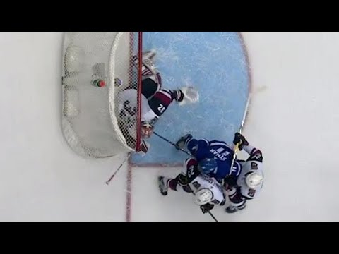 Video: Tim and Sid: The Maple Leafs' disallowed goal was the right call