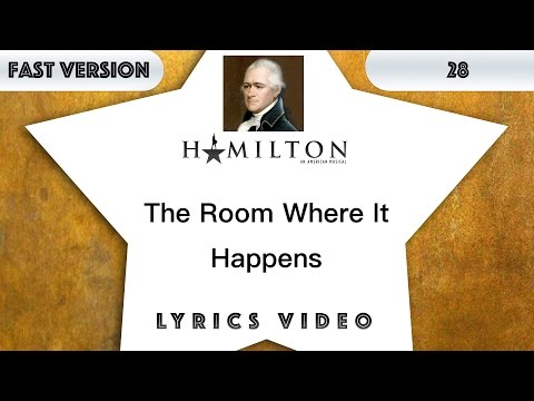 Video 28 episode: Hamilton - The Room Where it happens [Music Lyrics] - 3x faster download in MP3, 3GP, MP4, WEBM, AVI, FLV January 2017