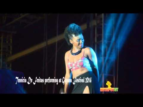Tennicia De Freitas rendition of CRAZY at Guyana Festival 2014