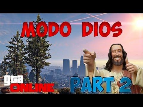 GTA V online Glitch Modo Dios, Meterse en edifcio prohibido part 2 (видео)