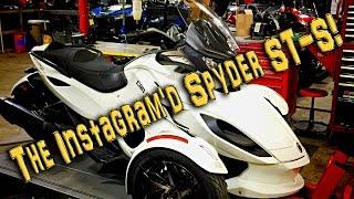 7. The Instagram'd Spyder ST-S! | TestRides