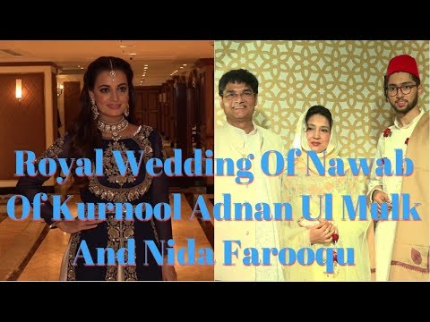 Dia Mirza At Royal Wedding Of Nawab Of Kurnool Adnan Ul Mulk And Nida Farooqu