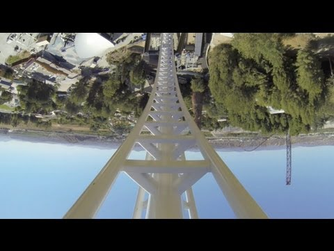 six flags magic mountain - YOLO!!!! We have a complete POV of Full Throttle at Six Flags Magic Mountain! Footage provided by Six Flags!