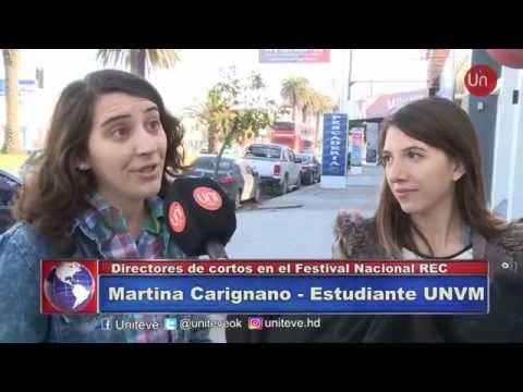 Estudiantes de Diseño y Producción Audiovisual en el Festival Nacional REC
