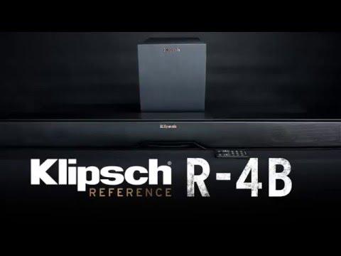 Klipsch Reference R-4B Soundbar with Wireless Subwoofer