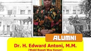 Alumni angkatan pertama yang menjabat sebagai Wabup Way Kanan