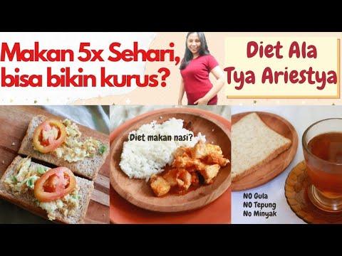 Menu masakan diet tya ariestya   Diet No Minyak & No Gula   Nyobain makan Diet ala Tya Ariestya