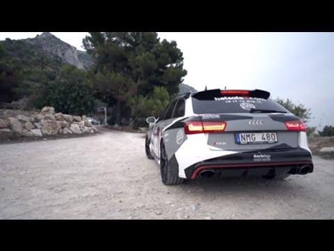 Gumball Audi RS6 with Milltek exhaust видео