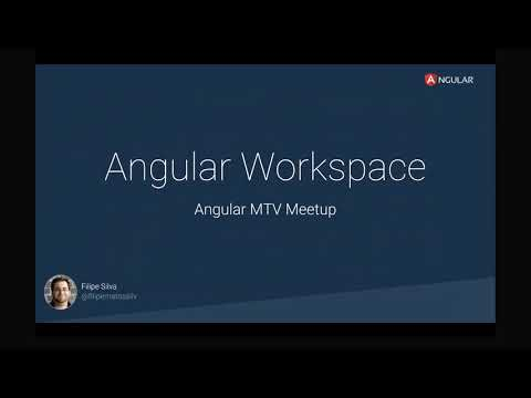 Presentations from the Angular CLI Team