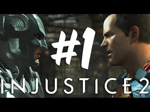 Injustice 2 - Story Walkthrough Part 1 Shattered Family (видео)