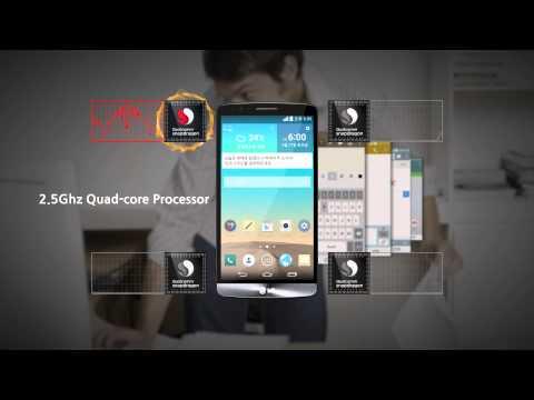 LG G3 - prezentacja mocy procesora Quad-core