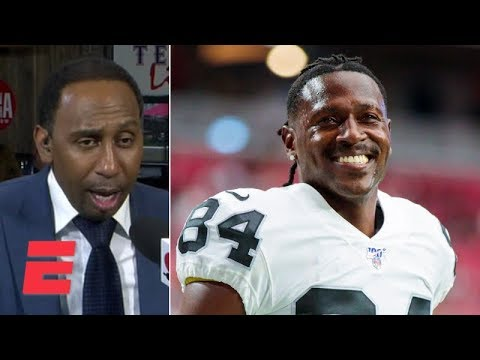 Video: Antonio Brown's return to the Raiders has Stephen A., Mike Wilbon fired up | ESPN Voices