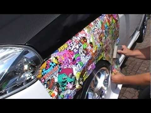 What is sticker bomb?????