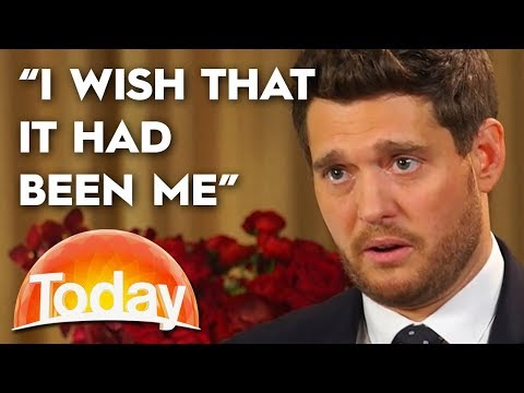 Michael Buble opens up about his son's cancer battle   TODAY Show Australia
