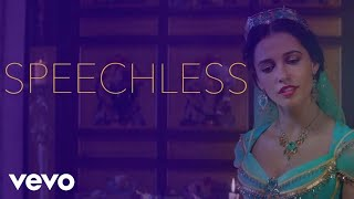"Download Lagu Naomi Scott - Speechless (From ""Aladdin""/Official Lyric Video) Mp3"