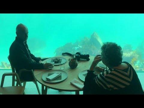 Δείπνο στο υποβρύχιο εστιατόριο