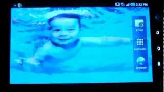 Magic wave:Child swim in water YouTube video