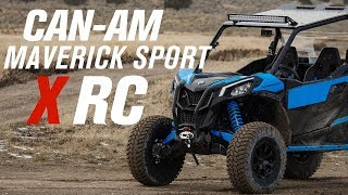 5. CAN-AM Maverick Sport 1000R X RC | Ride Review