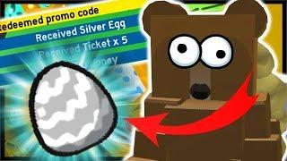 New Free Silver Egg Code Roblox Bee Swarm Simulator
