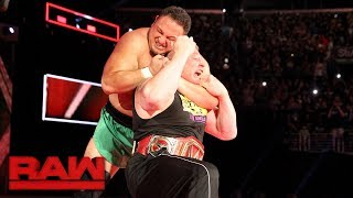 The Samoan Submission Specialist ambushes The Beast Incarnate two weeks before their Universal Title clash at the first-ever ...