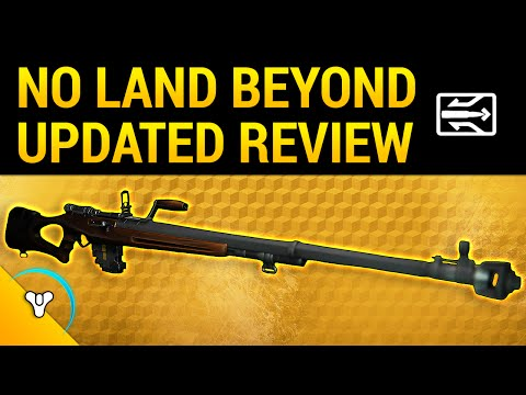 Destiny Taken King: No Land Beyond Exotic Review v.2