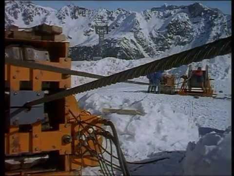 pourquoi la neige ne fond pas en montagne