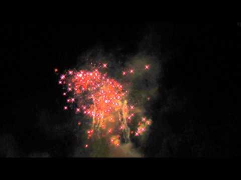 Feuerwerk 21.09.13 Gutspark Kladow Berlin