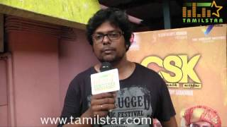 Sri Saravanan at Charles Shafique Karthiga Movie Audio Launch