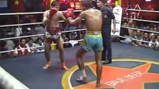Muay Thai Fight Chiang Mai-6 Elbow Strike Knockout