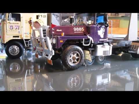Camión de madera modelismo - Modelos sin carga proximamente subire un video donde estan cargados.