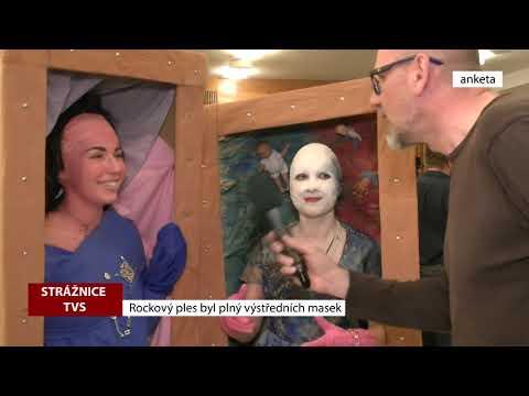 TVS Strážnice - Rockový ples byl plný výstředních masek