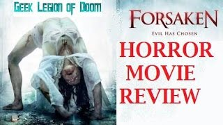 Nonton FORSAKEN ( 2016 David E. Cazares ) Demonic Possession Horror Movie Review Film Subtitle Indonesia Streaming Movie Download