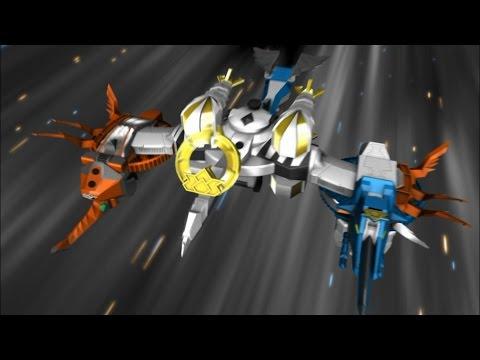 Samurai Battlewing Zord Debut Fight | Power Rangers Samurai Episode 8 | Power Rangers Official