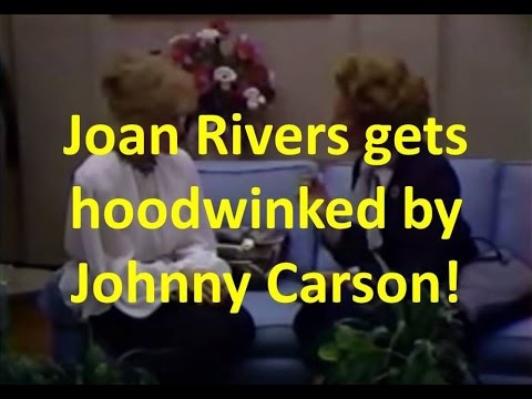 Johnny Carson's Practical Joke on Joan Rivers – Margaret Thatcher Impressionist (about 1983)
