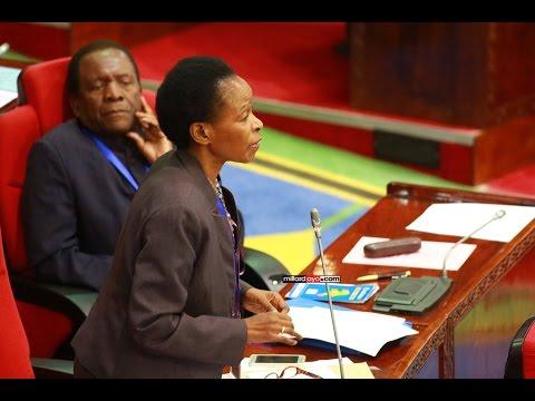 Mchango wa Prof Anna Tibaijuka bungeni Dododma mara baada ya kutoka kuwatembelea wahanga wa tetemeko  la ardhi mkoani Kagera