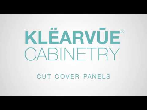How To Klearvue Cut Cover Panels