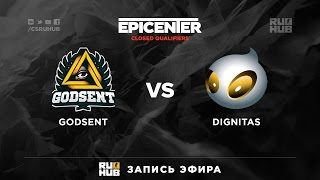 Dignitas vs GODSENT, game 1