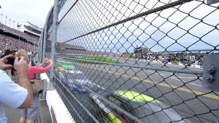 Woah! So This Is How It Feels When Nascars Flyby At Over 200mph!