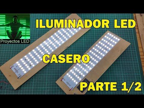 Videos caseros - Iluminador led casero, parte 1/2