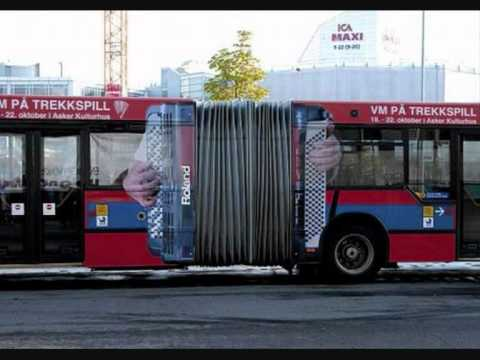 Innovative Advertising on buses