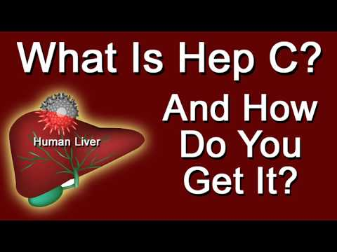 What is Hep C And How Do You Get It?