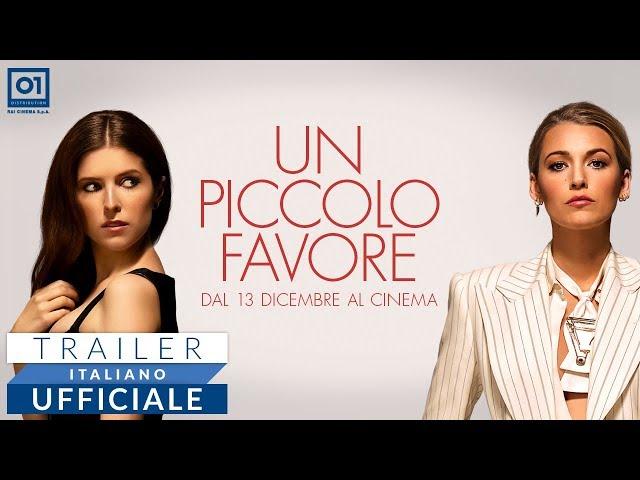 Anteprima Immagine Trailer Un Piccolo Favore, trailer ufficiale italiano