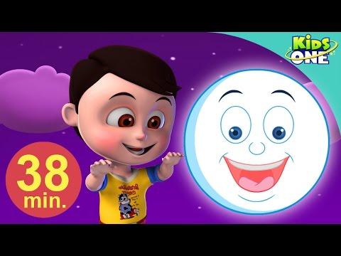 चाँद (नया) | बच्चों के लिए बालगीत | Chand | Hindi Ch