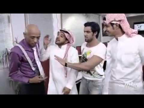 الممثل حسين الاسمري في مسلسل الو مرحبا