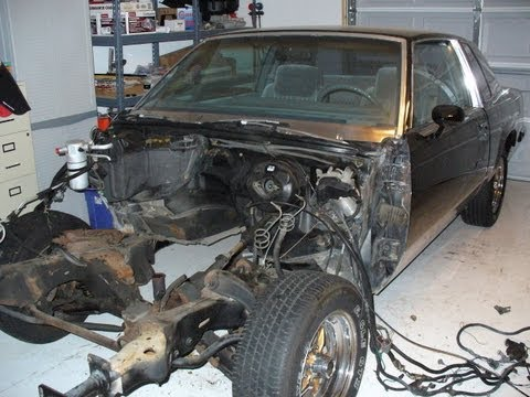 1987 Olds 442: Video 1 – Prepping the Body for Frame Off