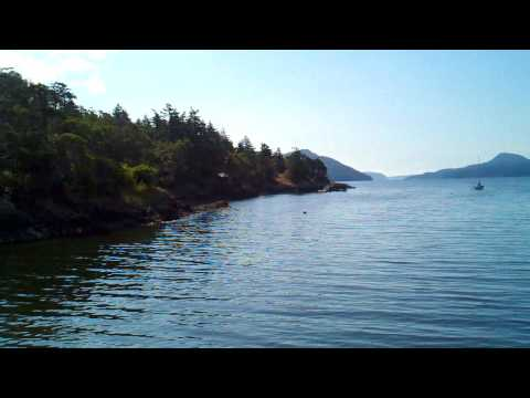 A Beautiful Day in Eastsound on Orcas Island